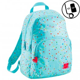 Mochila Doble Agatha Ruiz de la Prada Luces Adaptable