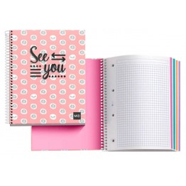 Cuaderno A4 Notebook 4 See You 140 Hojas