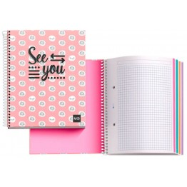 Cuaderno A5 Notebook 4 See You 140 Hojas