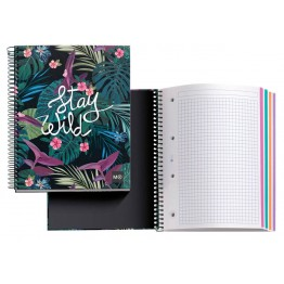 Cuaderno A4 Notebook 4 Stay Wild 140 Hojas