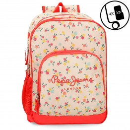 Mochila Doble Pepe Jeans Joseline Adaptable