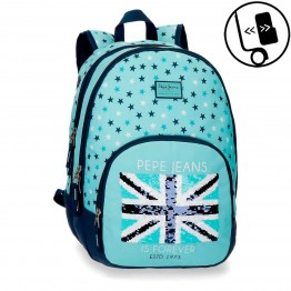 Mochila Doble Pepe Jeans Cuore Adaptable