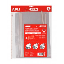 Forro de PP Autoajustable Apli 5 Unidades 280 mm