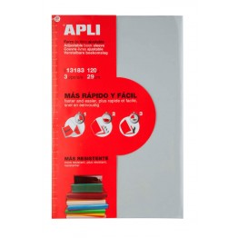 Forro de PVC Autoajustable Apli 3 Unidades 290 mm