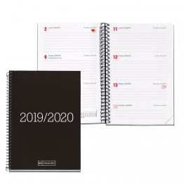Agenda Escolar Secundaria 8º SV Essential Black