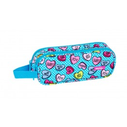 Estuche Safta Sweet Heart Doble