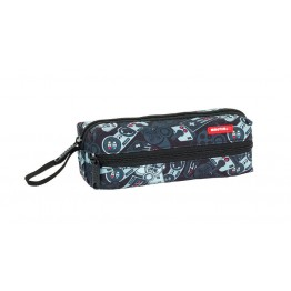 Estuche Safta Gamer Black Triple