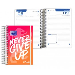 Agenda Escolar 8º DP Oxford Never Give Up Red
