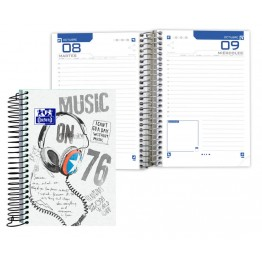 Agenda Escolar 8º DP Oxford Street Spirit Music