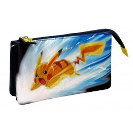 Estuche Pokemon Triple