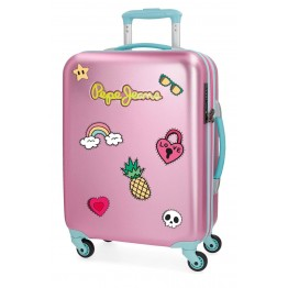 Trolley de Cabina Pepe Jeans Liberty Pink 55 cm