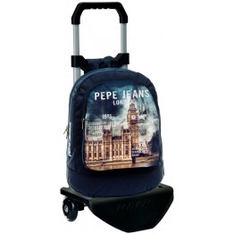 Mochila Pepe Jeans London Original con Carro